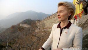 Reiseziel Vertrauensbildung: Von der Leyen in China