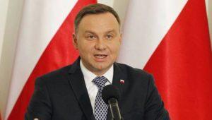 Polens Präsident Duda bei Steinmeier und Merkel