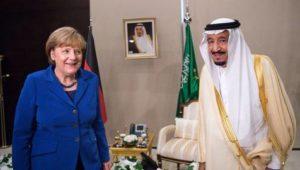 Merkel spricht mit saudischem König