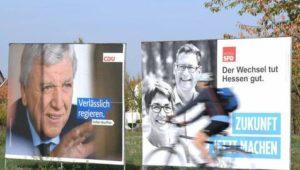 Wahlumfrage sieht Grüne knapp hinter SPD