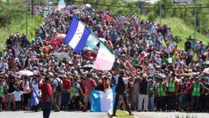 Trump droht Migranten aus Mittelamerika