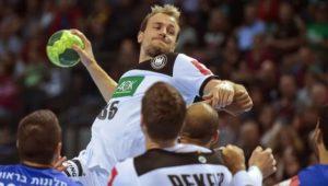 Deutsche Handballer starten mit Schützenfest