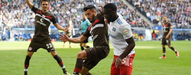 Keine Tore im schwachen Hamburger Zweitliga-Derby