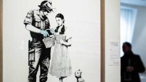 Banksy-Versteigerung in Paris: Passiert wieder etwas Schräges?