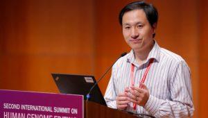 Forscher zeigt keine Reue: Neues genmanipuliertes Embryo verkündet