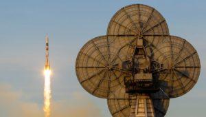 """Ablösung für """"Astro-Alex"""": Drei Raumfahrer erreichen ISS"""
