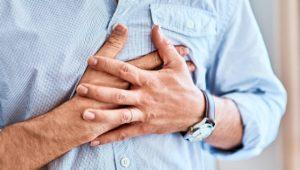 Fünf Minuten starke Schmerzen in der Brust: 112 anrufen