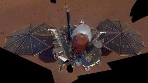 """""""Schaut mich an!"""": Mars-Sonde """"InSight"""" sendet erstes Selfie"""