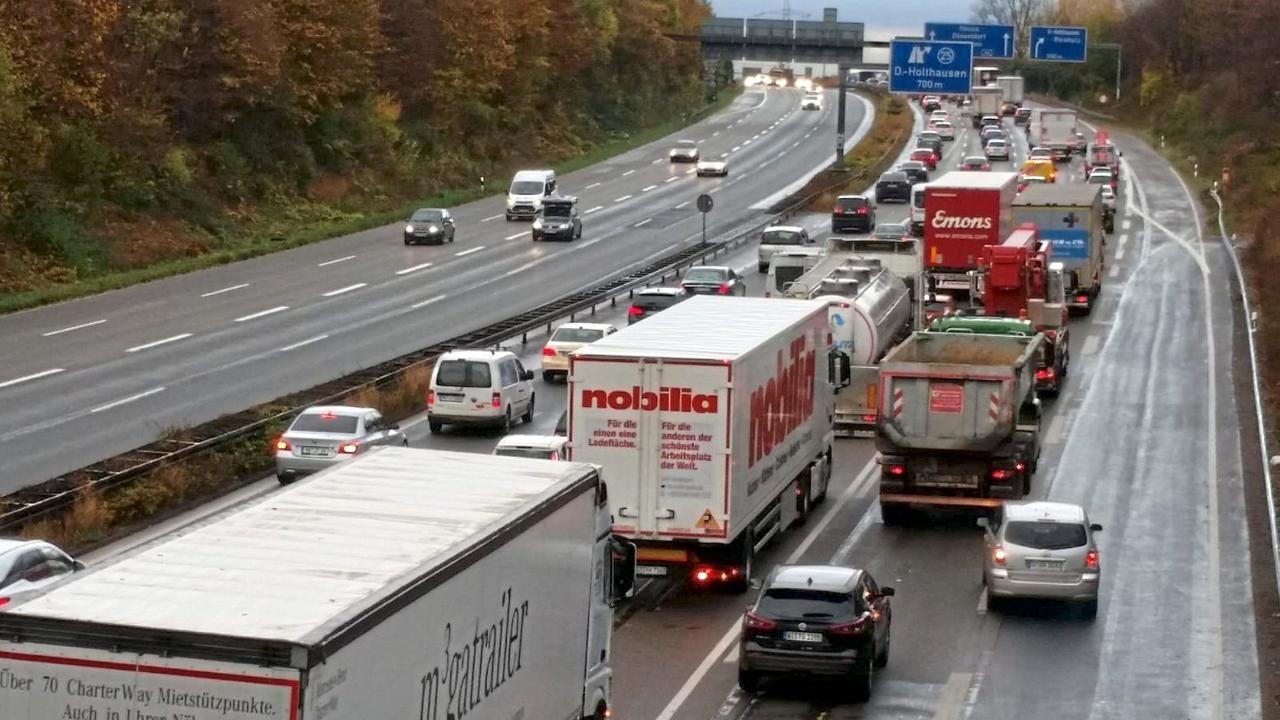 1,5 Millionen Kilometer Stau auf deutschen Autobahnen