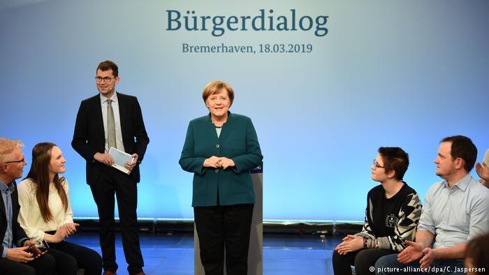 """Merkel: """"Langsam habe ich mich eingearbeitet"""""""
