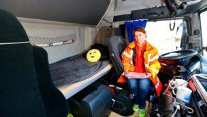 Das Brummi-Bett ist am Wochenende für Fahrer tabu