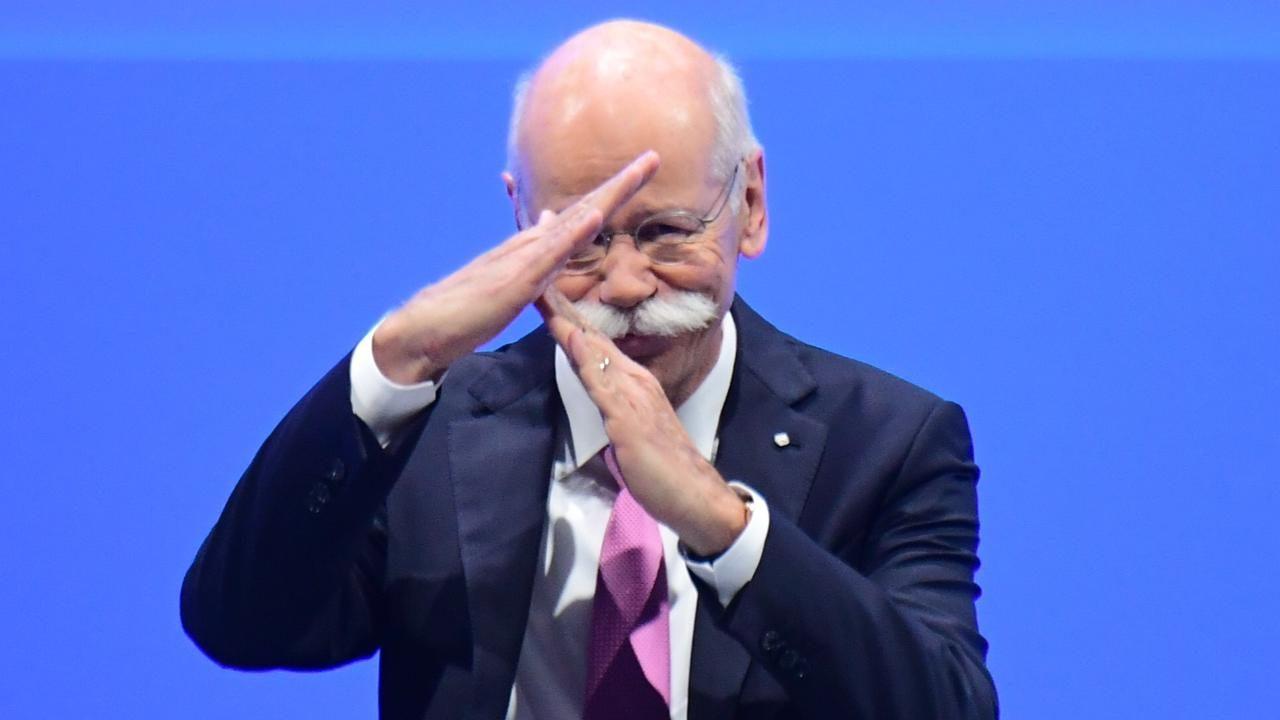 Daimler-Boss Zetsche übergibt das Steuer