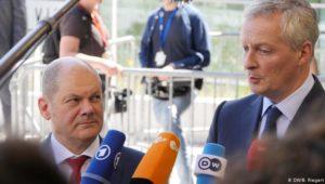 Der Optimismus zweier Finanzminister