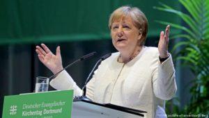 Merkel und mehr – Politik beim Kirchentag