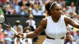 Simona Halep gewinnt den ersten Satz im Finale gegen Serena Williams