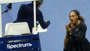Eklat im Finale: Williams wirft Schiedsrichter Sexismus vor