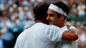 Roger Federer fordert in Wimbledon nun Novak Djokovic