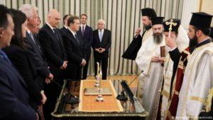 Neue griechische Regierung vereidigt