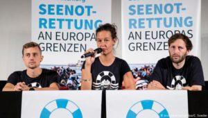 """Seenotrettung: Politischer Streit um die """"Sea-Watch 3"""""""