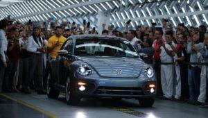 Letzter VW-Beetle geht vom Band